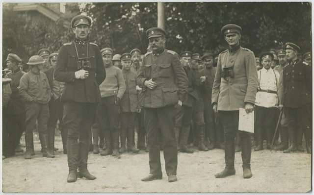 Eesti vägede ja Landeswehri vahelise sõjategevuse algus