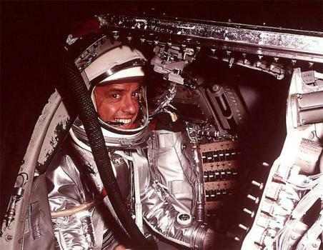 Alan Shepard Goes Into Space