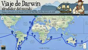 Los viajes de Charles Darwin