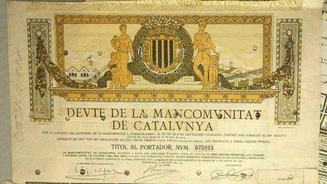 Fundación de la Mancomunidad de Cataluña