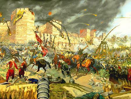 Caida del imperio bizantino