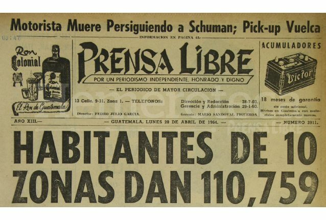 Censo en Guatemala
