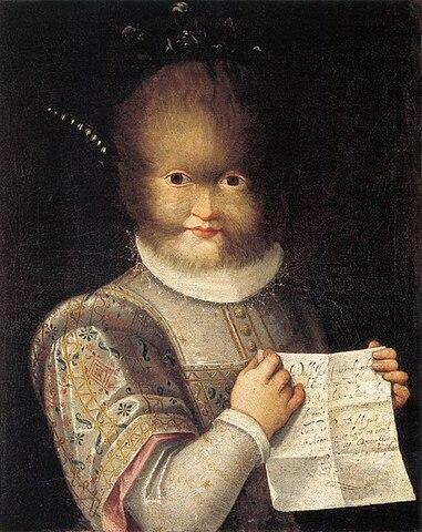 Antonietta Gonsalvus. (1572-1590).