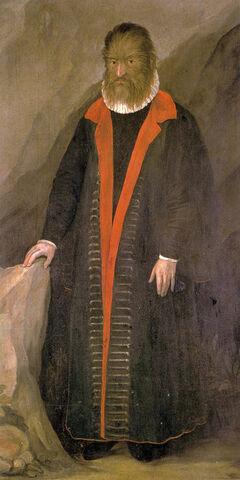 Petrus Gonsalvus. (1537-1618).