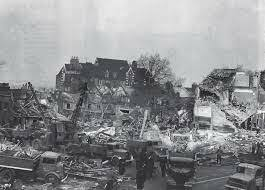 London Hit By V2 Flying Bombs