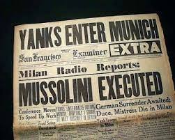 Mussolini Captured and Executed
