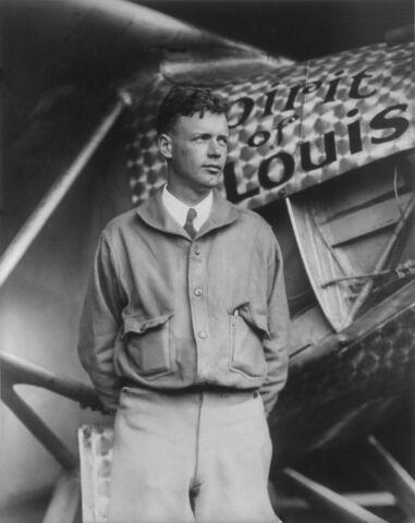 Charles Lindbergh (1902-1974).