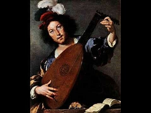 Edad Media Disfruta de la Guitarra