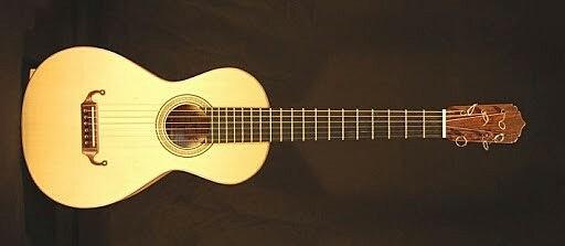 SIGLO XVIII Sobre la guitarra