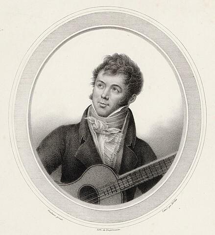 SIGLO XIX sobre la guitarra