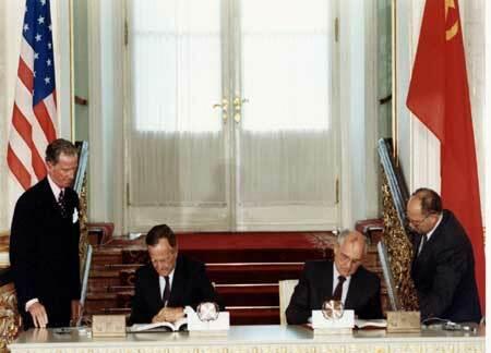 START I. - Tratado de Reducción de Armas Estratégicas.