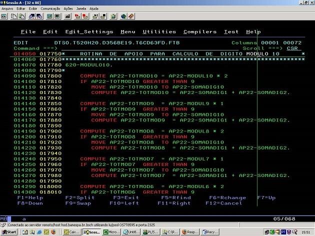 Introducción del lenguaje COBOL dentro del Software