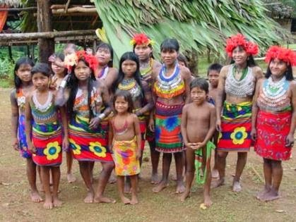 La etnia Awá