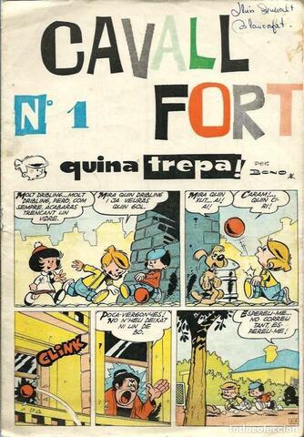 Es publica el primer número de Cavall Fort