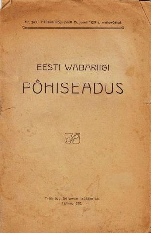 Eesti Wabariigi põhiseadus