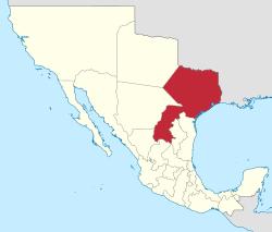 Texas solicita su separación del estado de Coahuila.