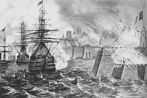 Veracruz atacado por franceses