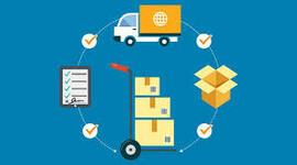 Evolución del concepto de la cadena de suministros. timeline