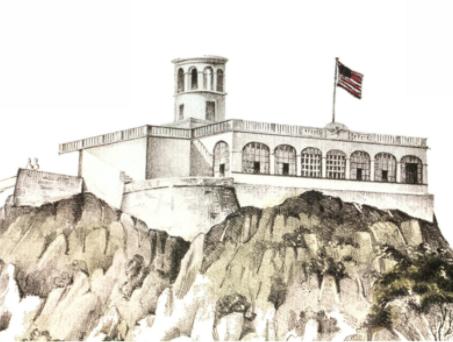 Cae el Castillo de Chapultepec