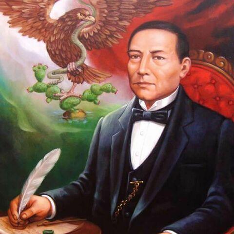 Benito Juárez asciende a la presidencia