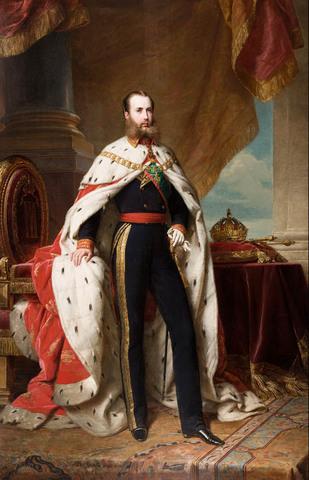 Llegada de Maximiliano de Habsburgo a México