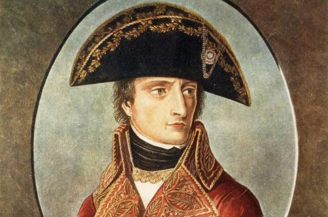 Napoleón retira sus tropas de México