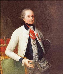 Prince Nikolaus Eszterhazy  (1765- 1833)
