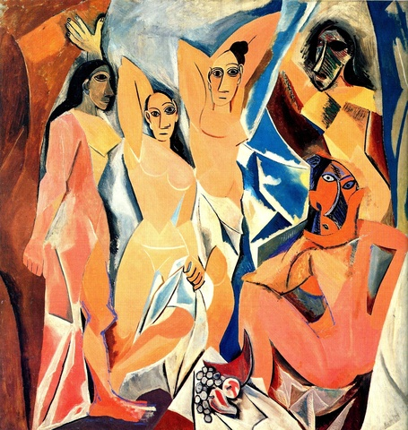 Las Señoritas de Avignon, Picasso