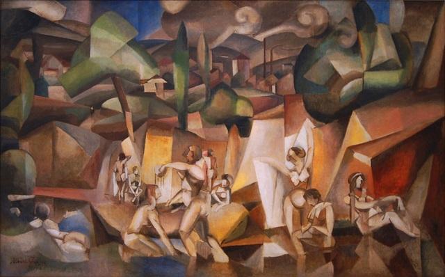 Les Baigneuses, Albert Gleizes, 1912
