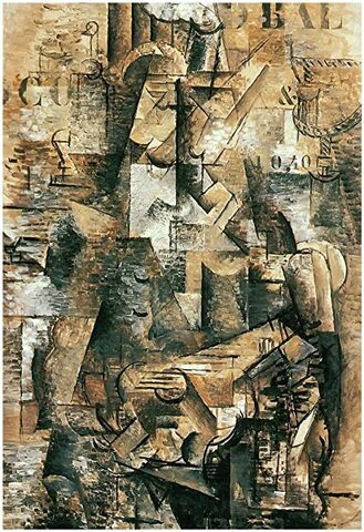 Le Pourtugais, George Braque, 1911