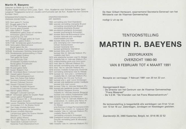 Martin R. Baeyens