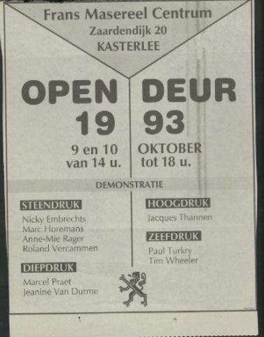Open deur 1993