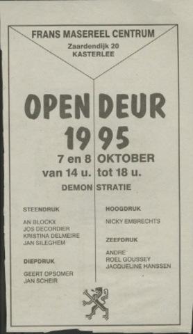 Open deur 1995