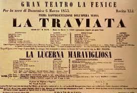Estreno La Traviata Verdi