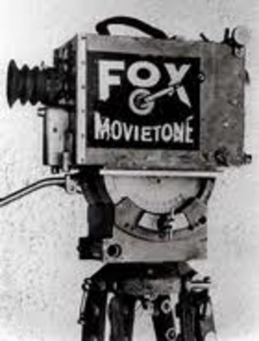 Fox Film Buys the Patents on the Movietown Sound System to Record Sound and Use it in Films