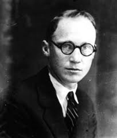 John T Scopes is Indicted for Teaching Darwin's Theory of Evolution