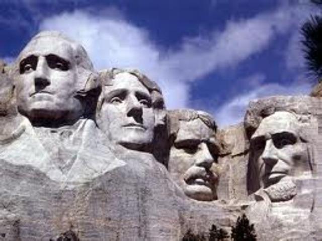 Mount Rushmore is Dedicated