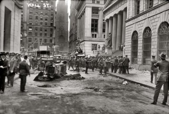 Wall Steet Bombing at J.P. Morgan Bank