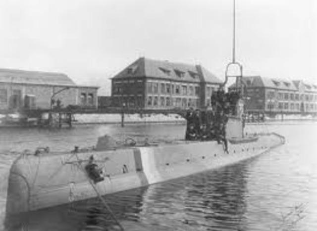 Germany Resumes Unrestricted Submarine Warfare
