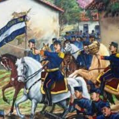 Historia de El Salvador timeline