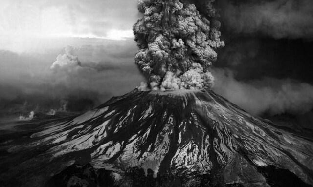 Explosion del volcan de CosigÜna