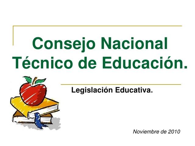 Surge el Consejo Nacional Técnico de la Educación.
