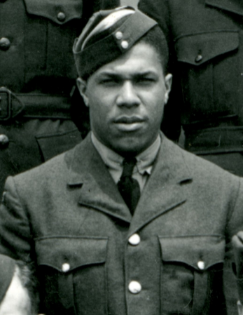 One of First black pilot in RCAF