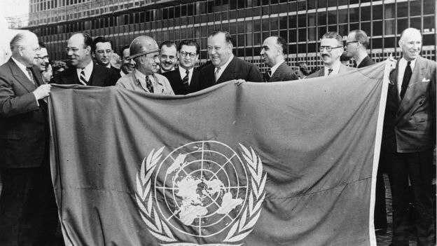 Creación de la ORGANIZACIÓN DE LAS NACIONES UNIDAS