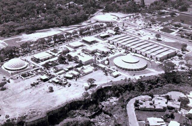 Primer día de la primera Feria Internacional de El Salvador.
