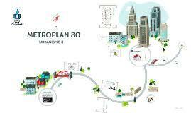 """Se creó """"Metroplan 80""""."""