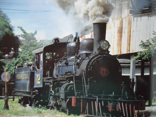 Inauguración del ferrocarril de Acajutla a Sonsonate