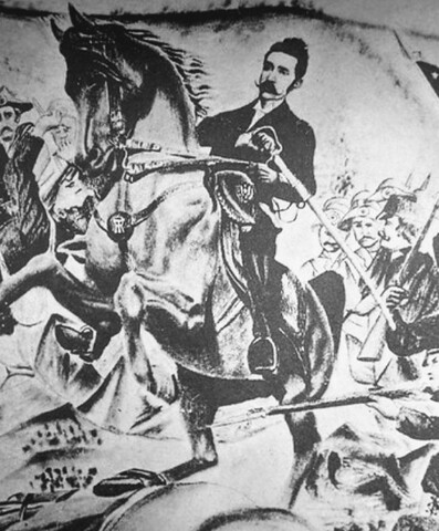 Carlos Ezeta es derrocado por la Revolución de los 44
