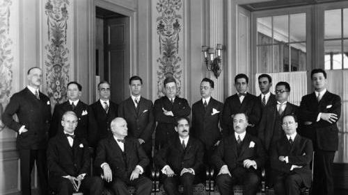 Germany leaves League Of Nations