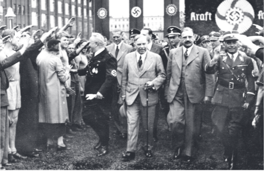 Mackenzie King's visit to Berlin CAN